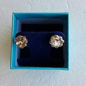 Jewelry - Morganite Sterling Silver Earrings