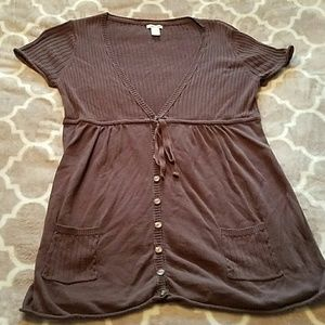 Brown Maurices top size XL