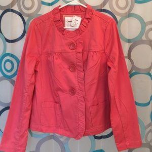 Sonoma Jackets & Blazers - Sonoma coral jacket medium new
