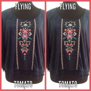 "Flying Tomato Tops - ""It's A Fringe Binge"" TOP"