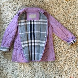 Burberry Other - 🆕LISTING! Girls BURBERRY Quilted jacket