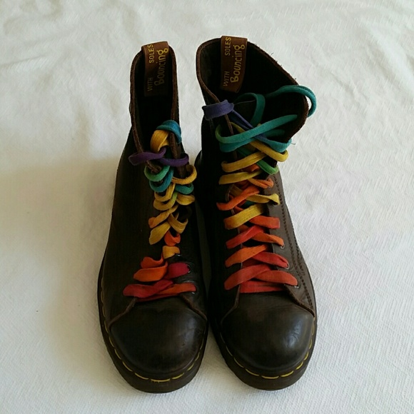 undefeated x offer get online Dr. Marten's with Rainbow Laces