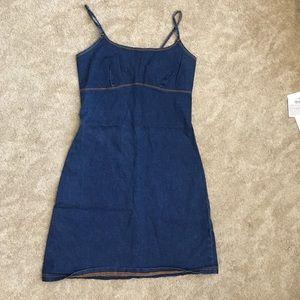 Stretchy jean dress