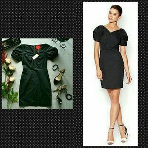 Zac Posen Dresses & Skirts - ZAC POSEN Z SPOKEN BLACK SHEATH DRESS