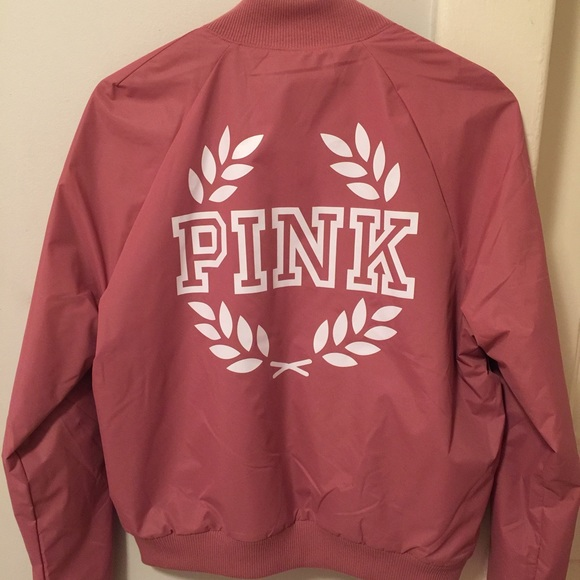 PINK Victoria's Secret - NEW Vs PINK Bomber Jacket Begonia from ...