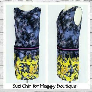 Suzi Chin Dresses & Skirts - Suzi Chin for Maggy Boutique Silk Dress Sz 14