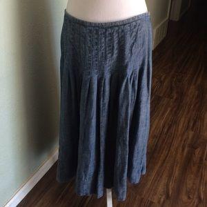 J. Jill Dresses & Skirts - Flowy linen skirt