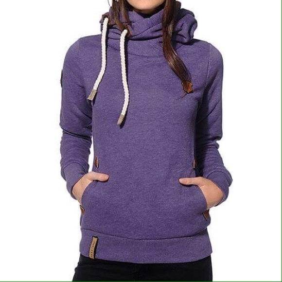 Naketano hoody NWT. Women's M. Purple. Naketano Tops