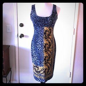 Cache Leopard Detail Dress 6