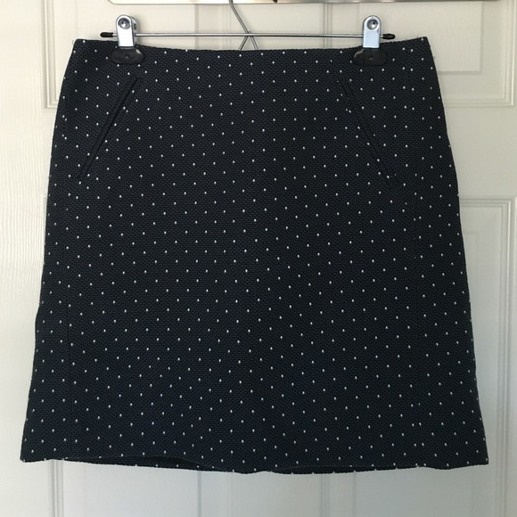 84 loft dresses skirts loft navy blue and white