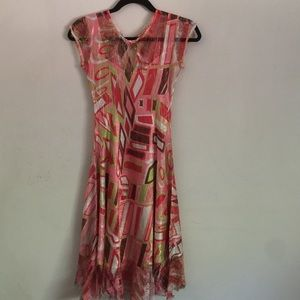 Komarov Dresses & Skirts - Komarov Flowy A-Line Dress Small