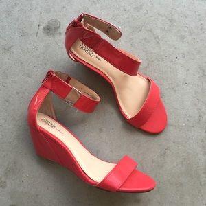 Prabal Gurung X Target Red Short Heel Sandal