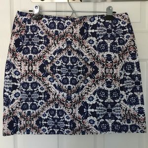 Patterned Joe Fresh skirt