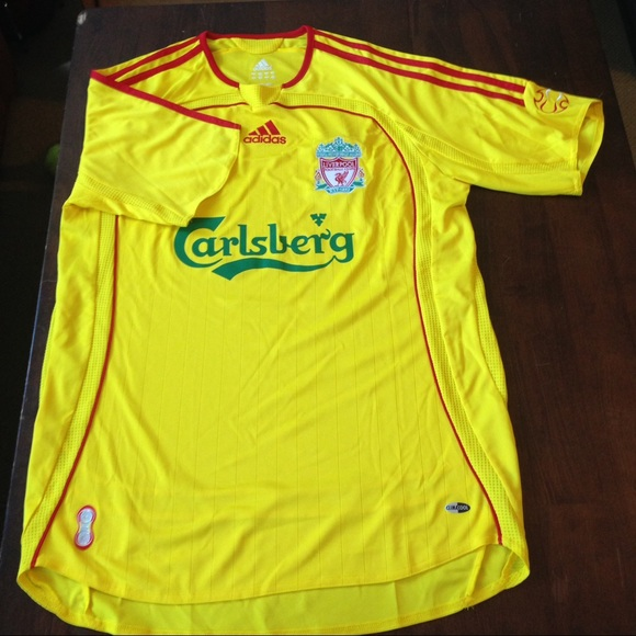 size 40 5650a 83586 Carlsberg Liverpool official adidas jersey