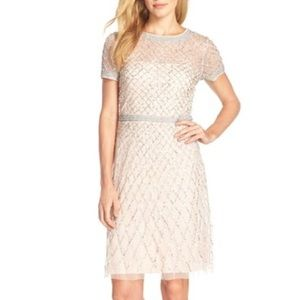 Adrianna Papell Dresses & Skirts - Beaded Woven Sheath Dress