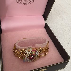 Juicy Couture Jewelry - Never worn Juicy Couture Bracelet-RARE!!