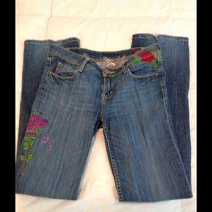 Seven7 Denim - Seven 7 'True Love' Embroidered Jeans 31