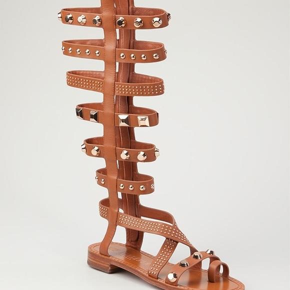 aaf8e2dba74 Ivy Kirzhner Shoes - Ivy Kirzhner Triumph Studded Gladiator Sandals