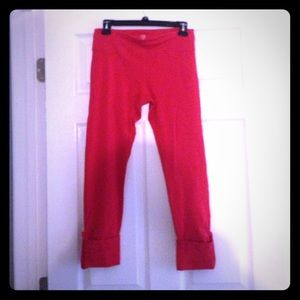 Ellie athletic Capri red cute large