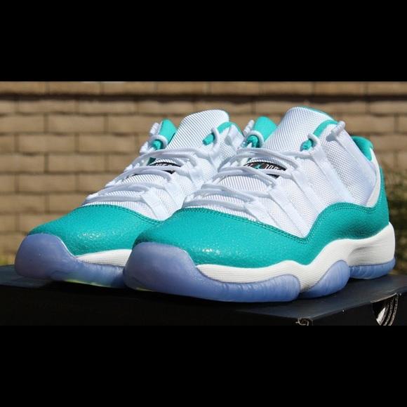 sale retailer 71560 05a82 Nike Air Jordan 11 Turquoise