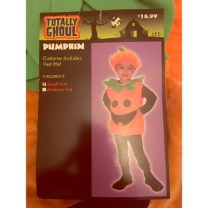 Totally Ghoul Other - Children's Pumpkin Halloween Costume - NWT!
