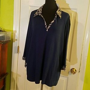 Karen Scott Tops - 🎉NWT💥SALE💥🎉Karen Scott Plus v-neck shirt.