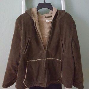 REDUCED J.Crew cozy warm Corduroy jacket