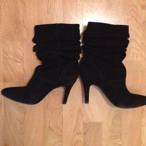 Shoes - Suede black boots