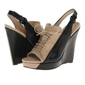 10 Crosby Derek Lam Shoes - Derek Lam NEVER WORN Suede & Leather lace up 6.5