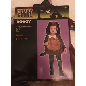 Totally Ghoul Other - Children's Doggy Halloween Costume - NWT!