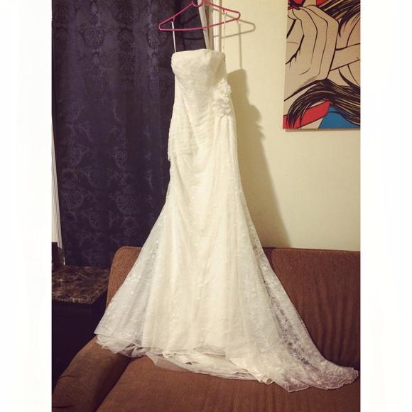 73 off vera wang dresses skirts white by vera wang wedding dress