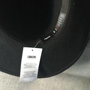 83a58c9f37e5b ASOS Accessories -  NWT  Western Black Cowboy Hat Flat Brim