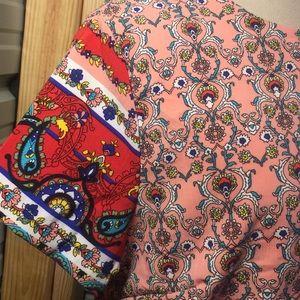 Dresses - Boutique short sleeve shift dress, large