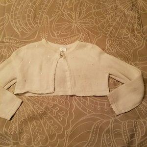 Other - Girl's size 6 cropped shrug bolero sweater