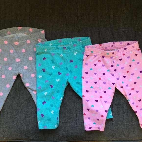 84020810ab850 Baby girl legging bundle