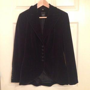 Esprit Jackets & Blazers - Black Crush Velvet ESPRIT Jacket