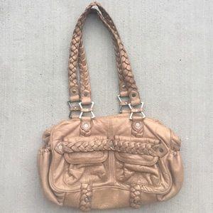 Anthropologie Handbags - Junior Drake Metallic Shoulder Bag