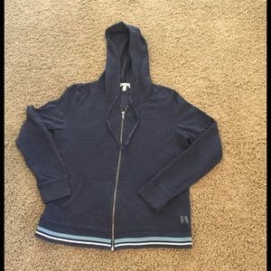 Victoria Secret hooded French Terry sweater Sz M