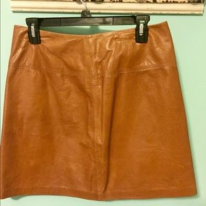 Cache Dresses & Skirts - Leather Skirt!