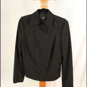 Ann Taylor Jackets & Blazers - Dressy if you want black twill moto.