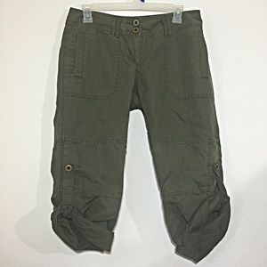 Hinge Pants - FREE W/ PURCHASE Khaki green pants, Hinge, sz 4