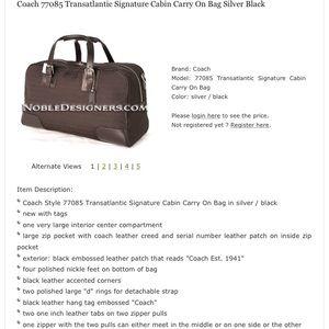 Coach Bags - Proof of Authenticity  coach bag 29ac768a88c32