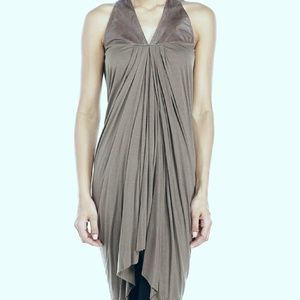 Rick Owens Tops - Rick Owens Lilies Leather Yoke Tunic