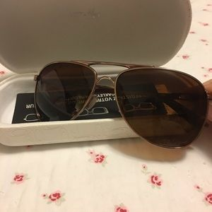 Oakley Accessories - Oakley Rose Gold And Brown Shades