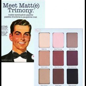 Meet Matt(e) Trimony Eyeshadow Palette by theBalm