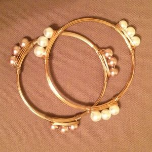 Jewelry - Beaded Pearled Bracelet Bundle
