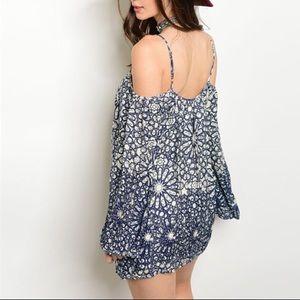 Off the Shoulder Sexy Dress Boho Chic