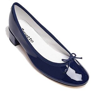 Repetto Shoes - Repetto 'Camille' Patent Navy Pump 10 $315