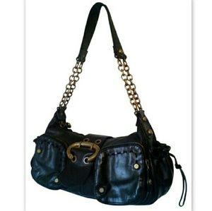 Francesco Biasia Handbags - BF SALEFrancesco Biasia Auth Handbag Leather Black