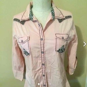 Roar Tops - Western Style With Sass by ROAR, Womens Size L